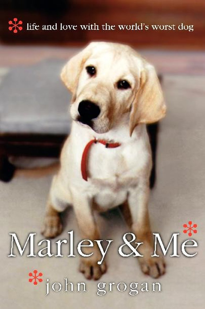marley and me book cover. When my very own Marley,